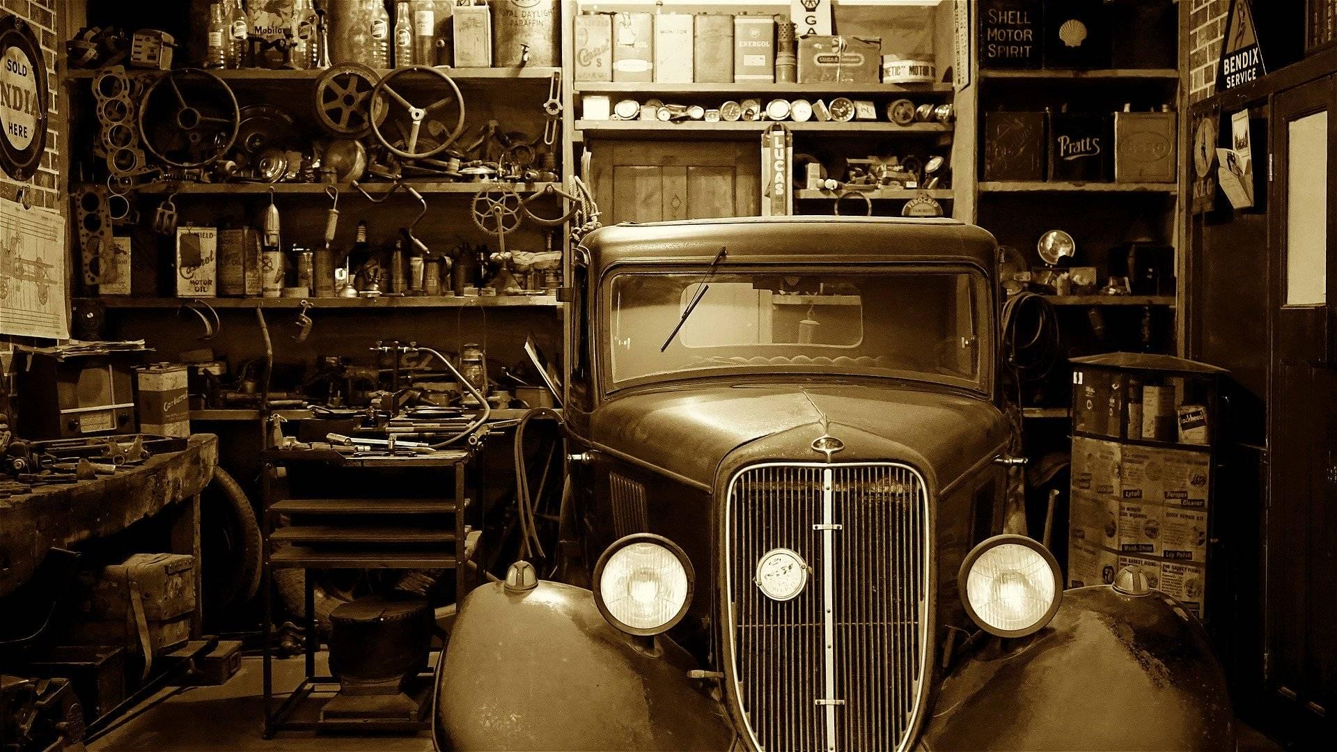Restauration de voiture ancienne