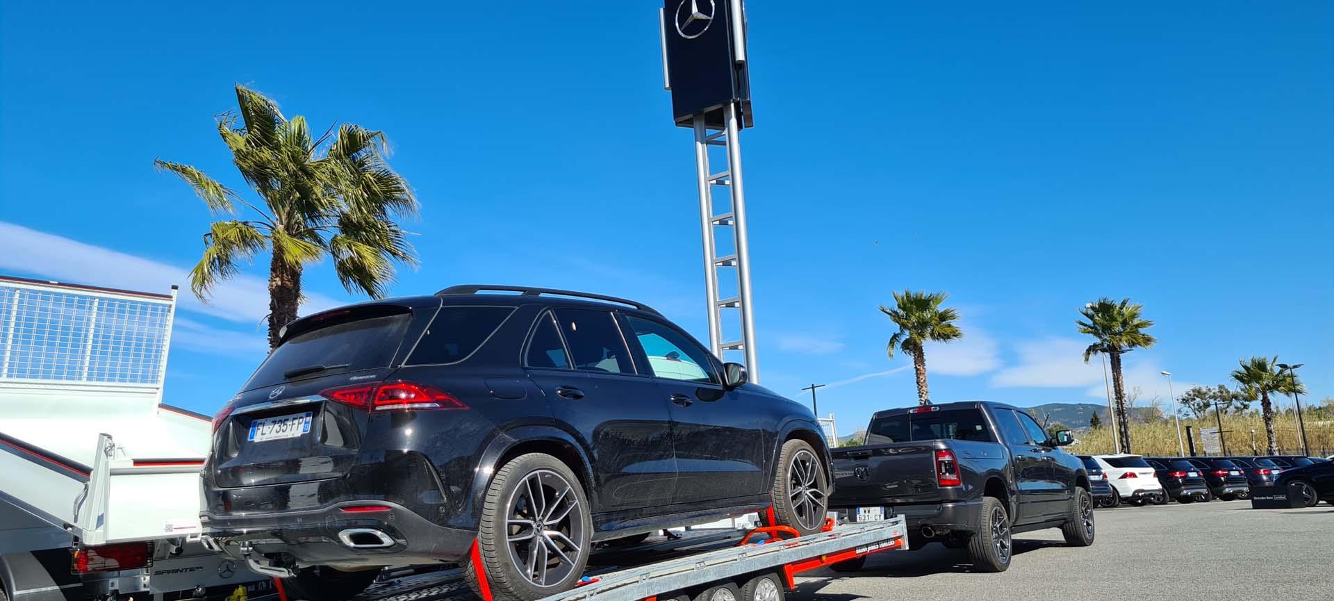 Livraison GLE SUV Mercedes-benz